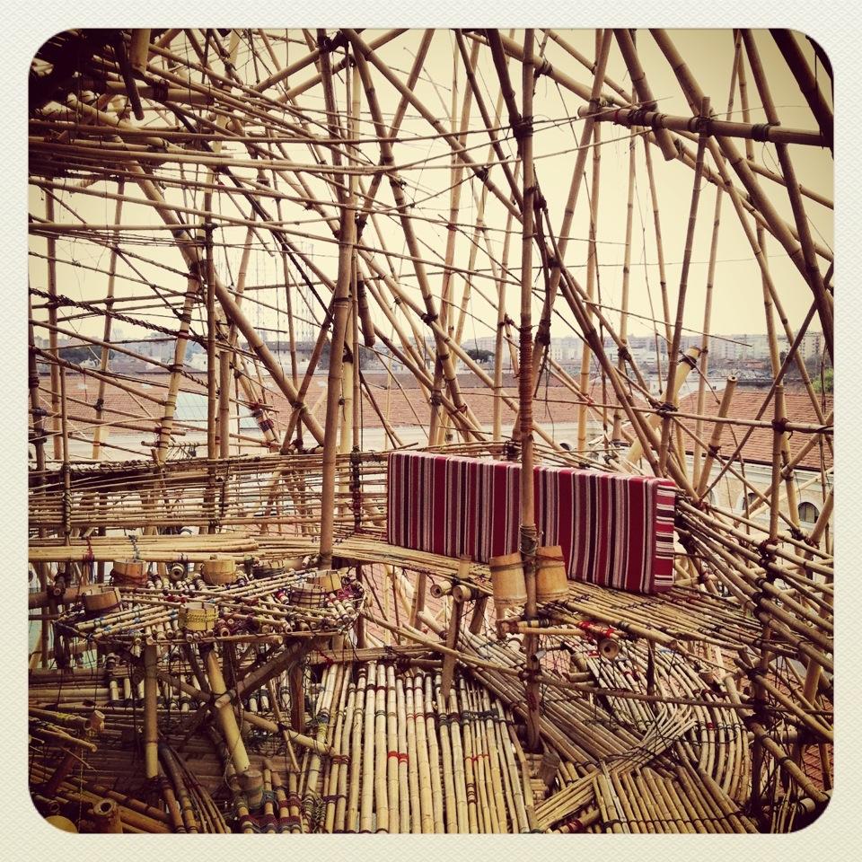 Bambù: l'architettura è natura