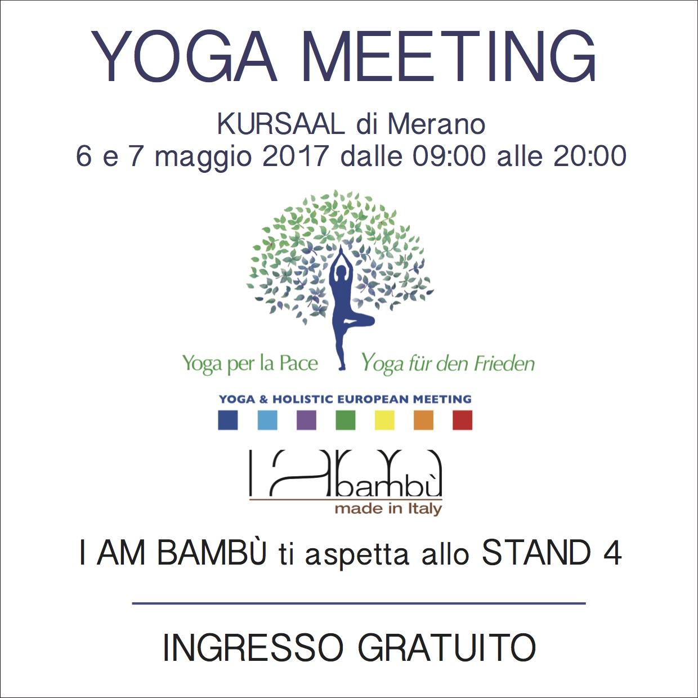 YOGA MEETING – Merano – 6|7 maggio 2017